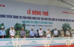 Khởi công một số dự án giao thông tại tỉnh Thái Bình