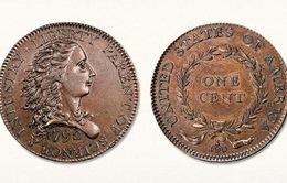 Đồng xu đầu tiên của Mỹ được bán đấu giá 1,2 triệu USD