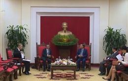 Đồng chí Tô Huy Rứa tiếp Đại sứ Đặc mệnh Toàn quyền Nhật Bản tại Việt Nam