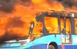 Brazil: Người dân biểu tình đốt xe bus đòi dịch vụ giao thông tốt hơn