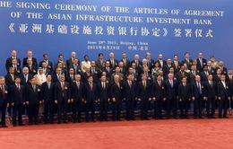 Ngân hàng AIIB bắt đầu hoạt động từ đầu năm 2016