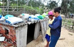 Xây hầm trú bão - Cách người dân Quảng Nam ứng phó với thiên tai
