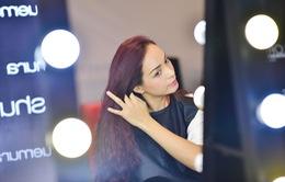 Thúy Hạnh bất ngờ trình diễn tại Tuần lễ thời trang quốc tế Việt Nam 2015