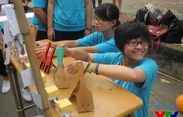 Đại học Quốc gia Hà Nội tưng bừng đón chào tân sinh viên