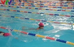 200 VĐV tranh tài Giải bơi Thanh thiếu niên Thành phố Hà Nội lần thứ nhất 2015