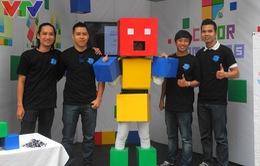 Các lập trình viên sẵn sàng trước Chung kết Giải thưởng Chim Xanh 2015