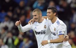 """Benzema muốn """"ngăn cản"""" Ronaldo giành QBV lần thứ tư"""