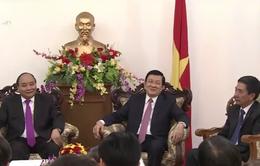 Chủ tịch nước thăm Đại sứ quán Việt Nam tại Indonesia