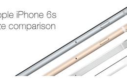 """""""Soi"""" kích cỡ iPhone 6S và các đối thủ"""