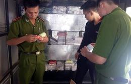 Truy đuổi xuyên tỉnh, bắt giữ xe ô tô vận chuyển hàng nghìn ĐTDĐ lậu tại Bắc Ninh