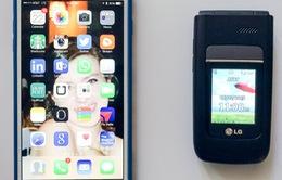 Vì sao nên sắm ngay một chiếc điện thoại nắp gập?