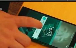 Điện thoại đầu tiên trên thế giới nhận diện bằng tròng mắt