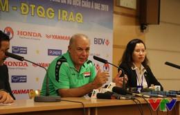 HLV ĐT Iraq: Với Nguyên Mạnh, ĐT Việt Nam sẽ đánh bại Thái Lan