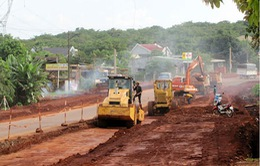 Đồng loạt thi công dự án nâng cấp Quốc lộ 14