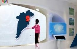 Bản tin dự báo thời tiết giả định năm 2050 ở Việt Nam