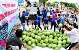 """Thực hư việc tỉnh đoàn Quảng Ngãi """"ăn chênh"""" tiền bán dưa hấu của người dân"""