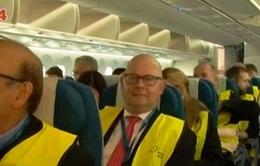 Vietnam Airlines tri ân khách hàng tại Đức