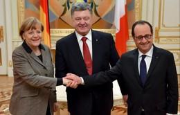 Lãnh đạo Đức, Pháp đến Kiev tìm kế hoạch hòa bình cho miền Đông Ukraine