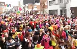 Sôi động lễ hội hóa trang Dunkerque, Pháp