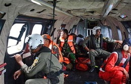 Tìm thấy đuôi máy bay QZ8501