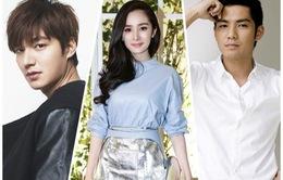 Dương Mịch sánh đôi cùng Lee Min Ho và Chung Hán Lương