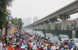 Hà Nội: Khắc phục ùn tắc giờ cao điểm trên đường Nguyễn Trãi