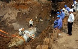 Khẩn cấp xây dựng đường ống sông Đà thứ 2