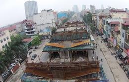 Đường sắt Cát Linh - Hà Đông: Tập trung thi công các nhà ga
