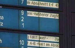 Đức: Các lái tàu chấm dứt tuần đình công
