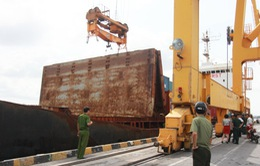 Hải Phòng: Đứt cáp tàu hàng, 2 người tử vong