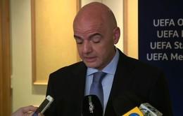 UEFA kêu gọi hoãn bầu Chủ tịch FIFA do bê bối tham nhũng