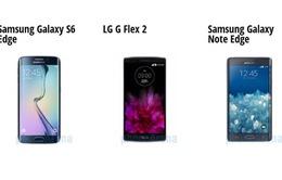 Bạn sẽ chọn smartphone màn hình cong nào?