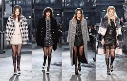 Mê mẩn những mẫu áo khoác dạ mới của Chanel