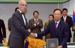 EU viện trợ 460 triệu USD cho Campuchia