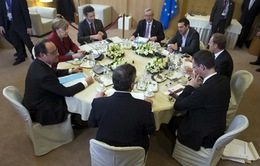 Lãnh đạo châu Âu họp Thượng đỉnh bất thường về vấn đề tị nạn
