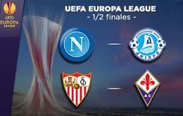 Lịch thi đấu và tường thuật vòng bán kết Europa League