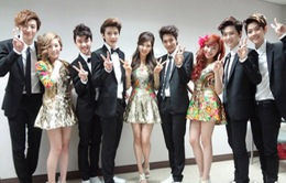 EXO, SNSD, Super Junior so kè nhau tại Golden Disk Award
