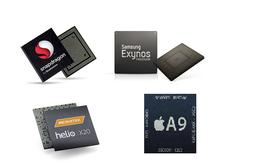 Chip A9 của Apple vượt mặt Snapdragon 820, Helio X20, Exynos 8890