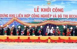 Khởi công khu liên hợp công nghiệp và đô thị Becamex tại Bình Phước