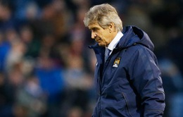 Man City sắp thành cựu vương, Pellegrini vẫn nói cứng