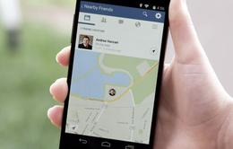 Facebook cập nhật tính năng tìm kiếm bạn bè xung quanh