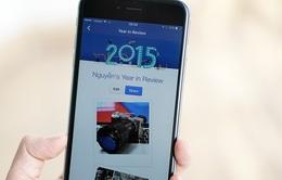 Facebook phát hành công cụ tổng kết cuối năm cho người dùng