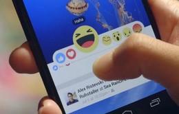 """Facebook bổ sung thêm tính năng """"Reactions"""""""