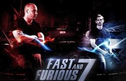 Nghẹt thở với trích đoạn phim đầu tiên của Fast & Furious 7