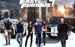 """Fast & Furious 7 - phim bom tấn """"hot"""" nhất phòng vé Trung Quốc tuần qua"""