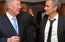 Ở Premier League, Mourinho chỉ coi Sir Alex là bạn