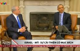 """Quan hệ Mỹ - Israel """"ấm"""" dần"""