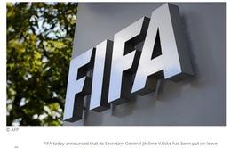 Lãnh đạo FIFA bị đình chỉ công tác vì tình nghi nhận hối lộ