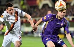 Fiorentina 1-1 Roma: Nội chiến Italy bất phân thắng bại