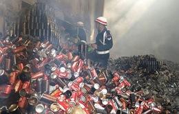 Cháy nhà kho của hãng Coca-Cola tại Myanmar gây thiệt hại lớn
